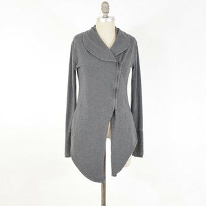 TASC Performance Bamboo Knit Asymmetric Jacket